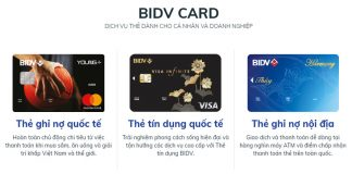 lam the atm bidv online