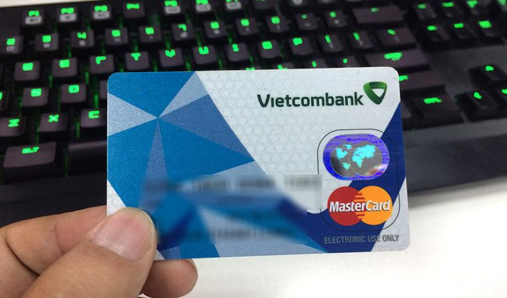 lay lai so tai khoan the atm vietcombank