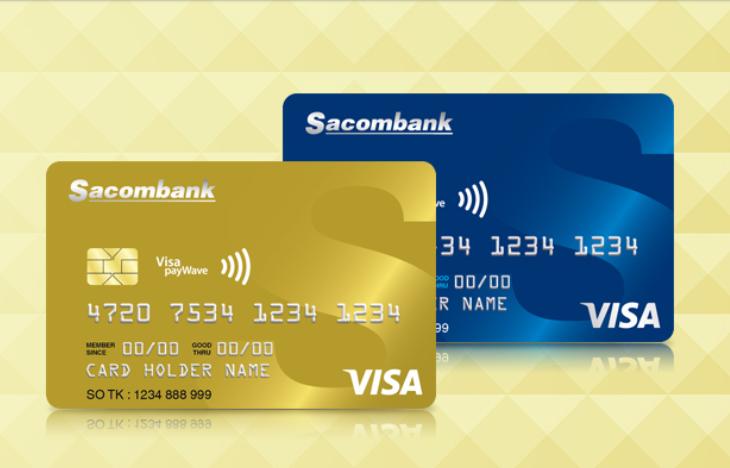 the visa sacombank co chuyen khoan duoc khong