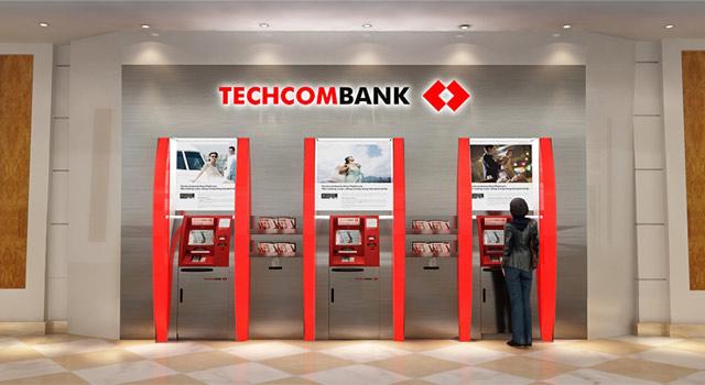 rut tien khong can dung the atm techcombank