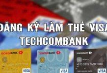 lam the visa debit techcombank mat bao lau