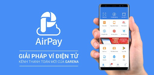 nap the vao vi airpay bang the dien thoai