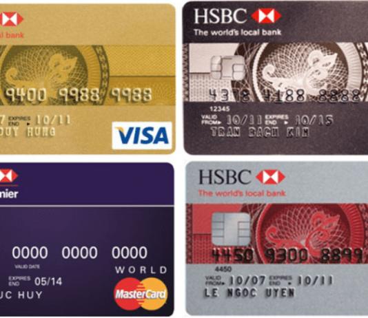 kích hoạt thẻ tín dụng hsbc