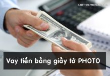 cach vay tien bang giay to photo