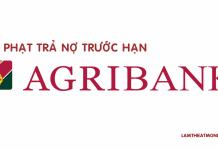 phi phat tra no truoc han ngan hang agribank