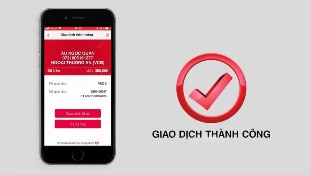 Cách chuyển tiền ngân hàng Techcombank qua app