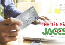 the tin dung Jaccs Credit Card rut tien o dau