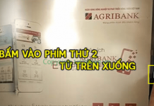 rut tien bang ma khong can the agribank