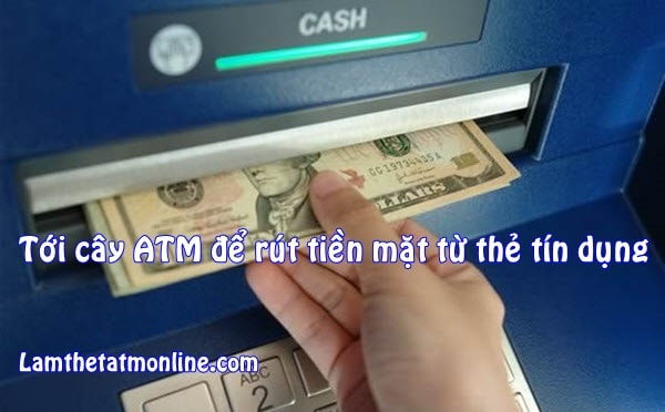 cach rut tien mat tu the tin dung fe credit