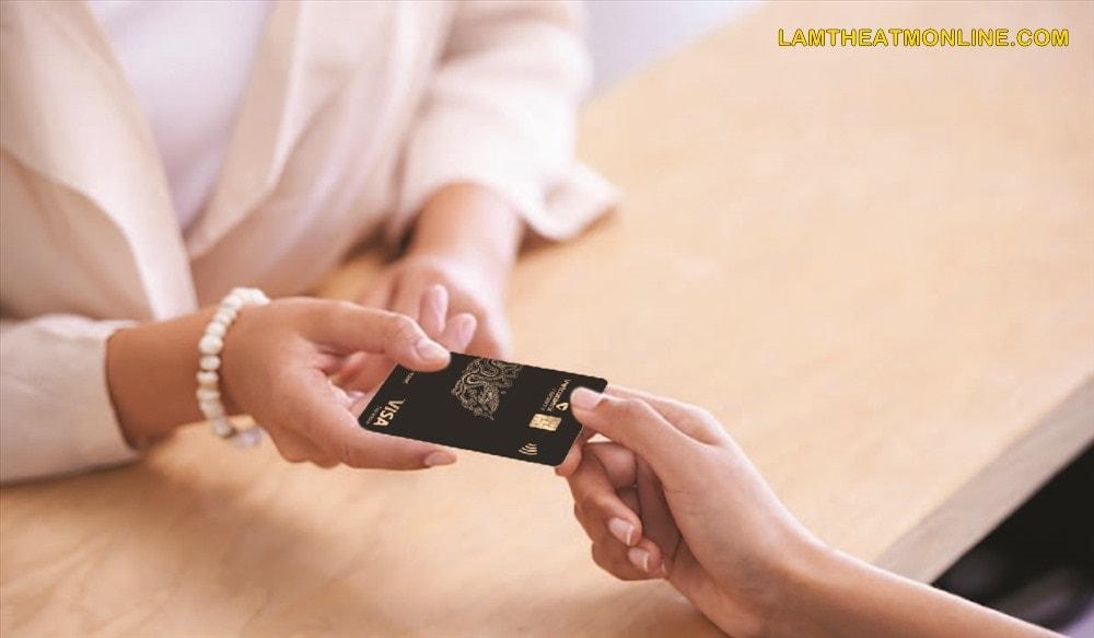 the visa vietcombank dung de lam gi