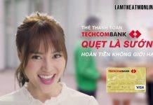 phi thuong nien the techcombank 2021