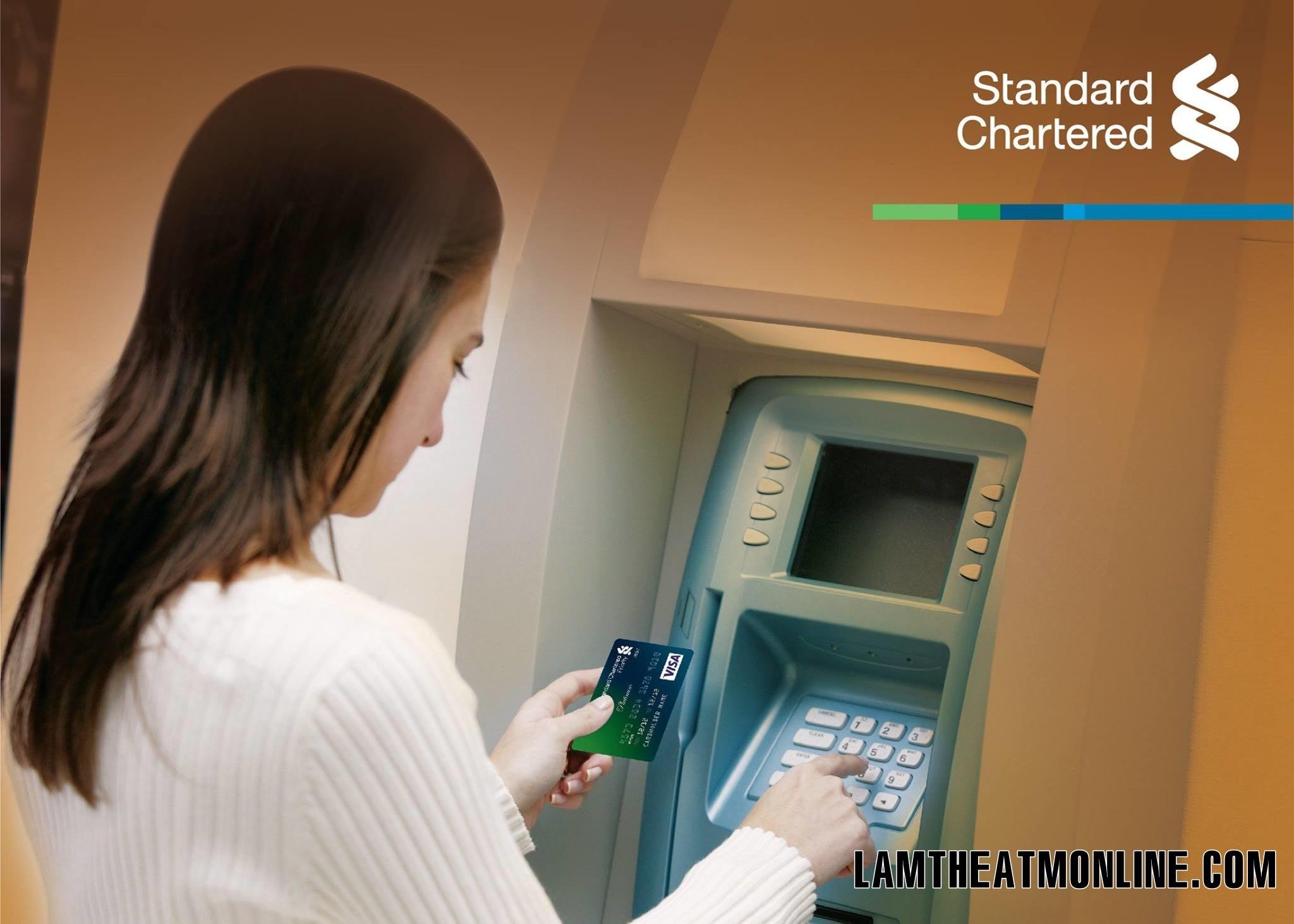cách chuyển khoản của Standard Chartered