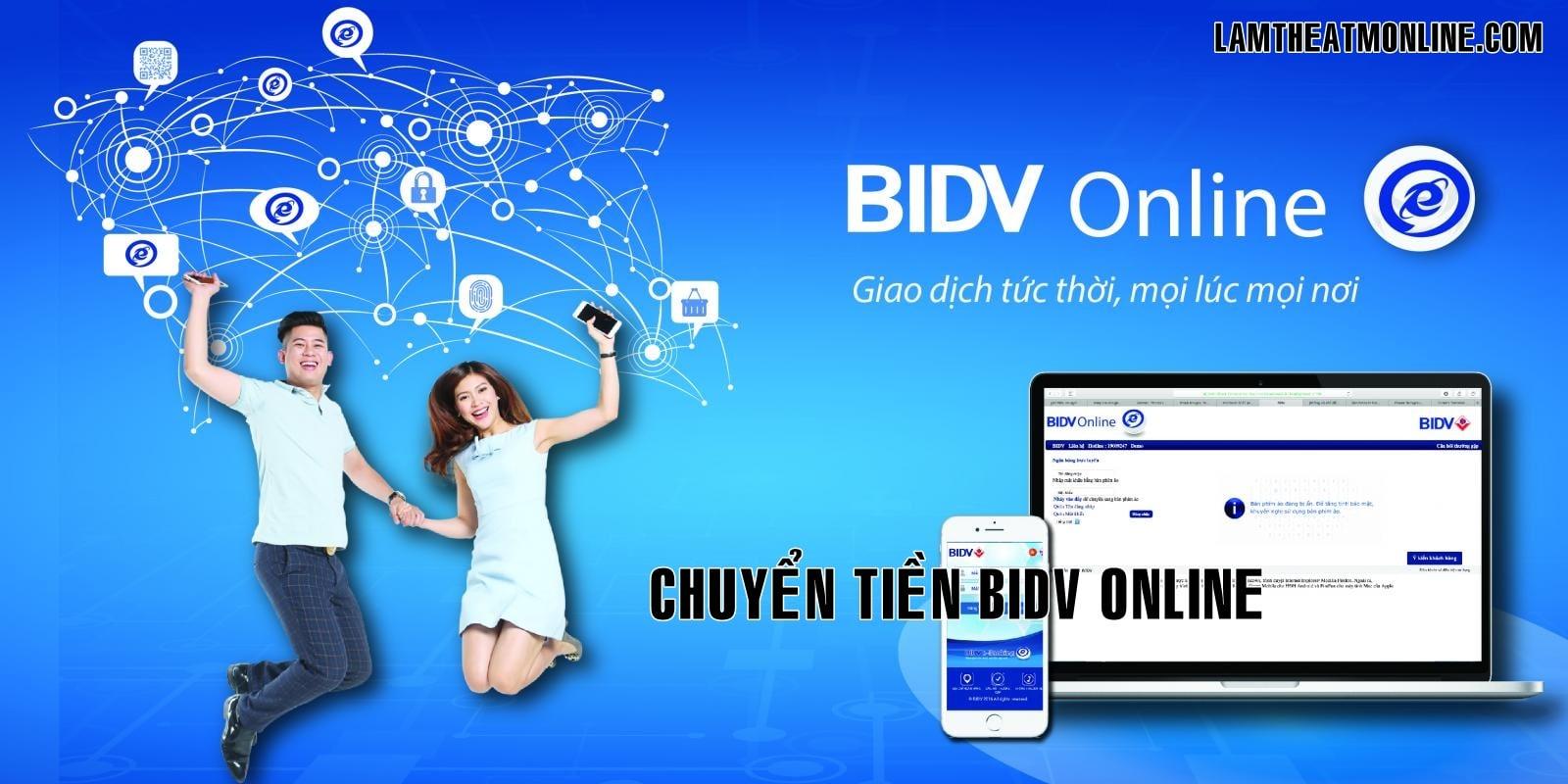 Huong dan chuyen tien bidv online
