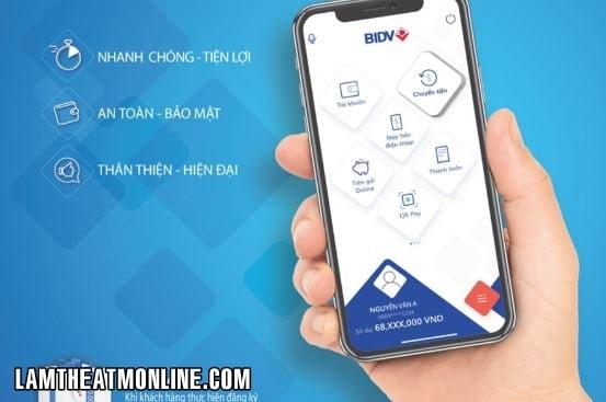 Thay doi so dien thoai smartbanking bidv online