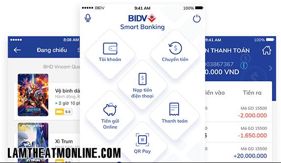 Dang ky bidv smart banking co mat phi khong
