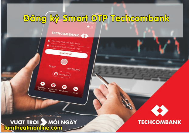 Cach dang ky smart otp techcombank