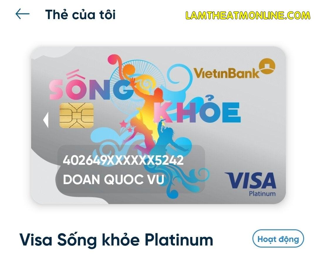 Cach lam the ghi no vietinbank