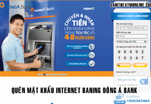 Quen mat khau internet banking dong a