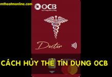 Huy the tin dung ocb