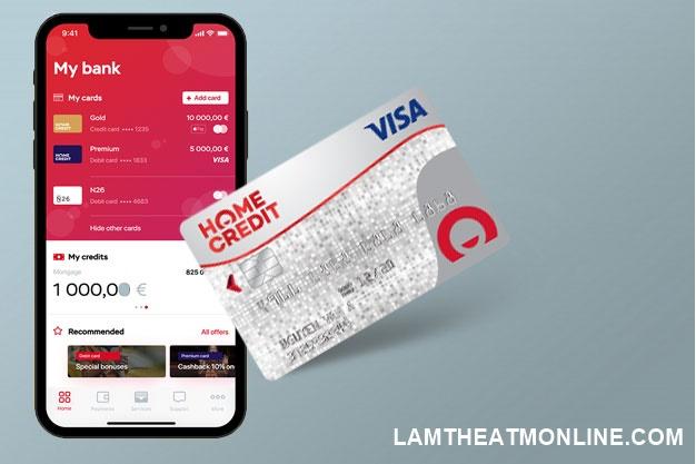 biểu phí thẻ tín dụng Home Credit