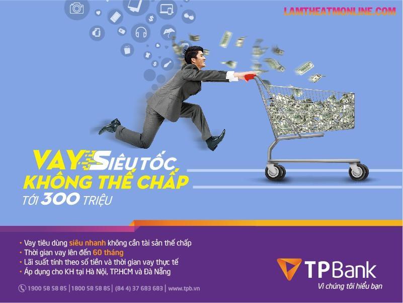 Cách tính lãi suất vay tín chấp tpbank