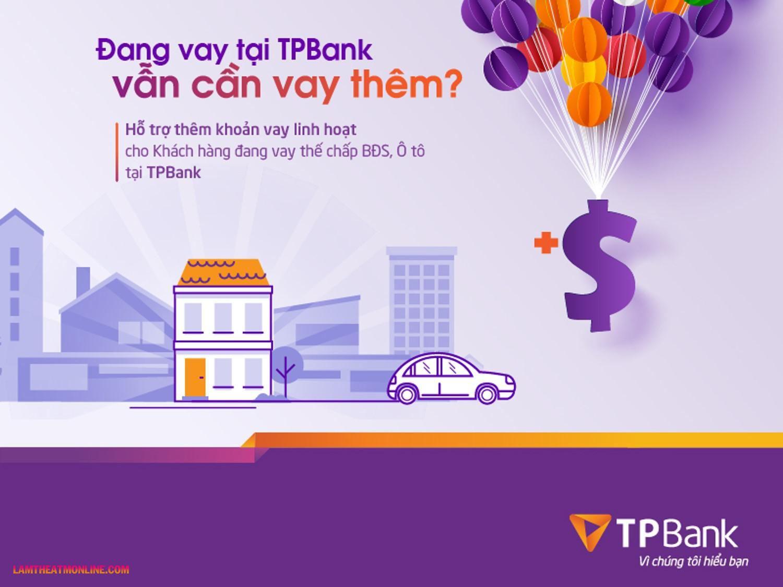 Cách tính lãi suất vay thế chấp tpbank