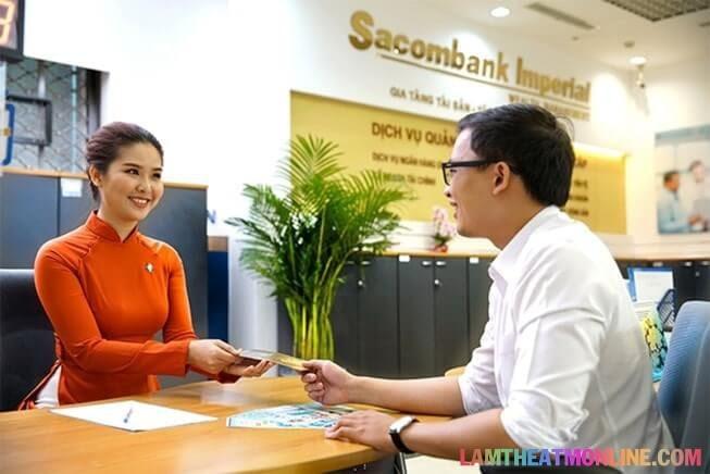 Nạp tiền vào tài khoản Sacombank bằng thẻ điện thoại